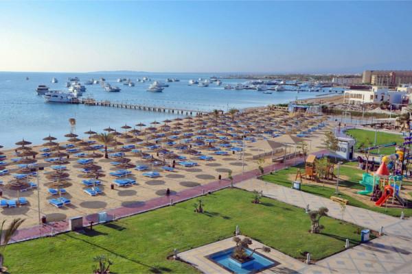 Plage - Hôtel Albatros White Beach Resort 5* Hurghada Egypte