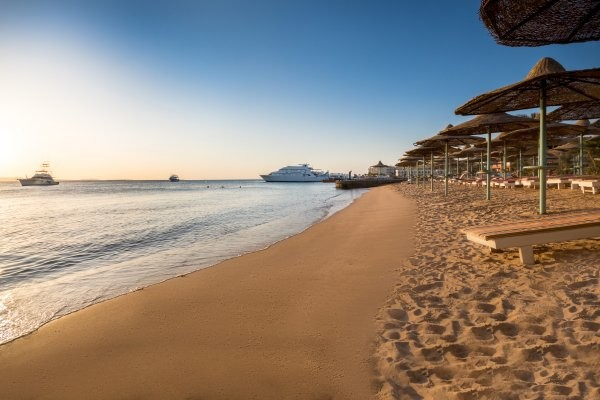 Plage - Hôtel Bella Vista Resort 4* Hurghada Egypte