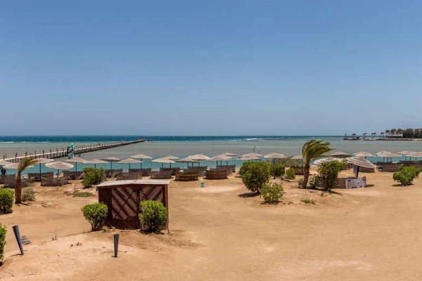 Plage - Hôtel Dawar El Omda 4* Hurghada Egypte