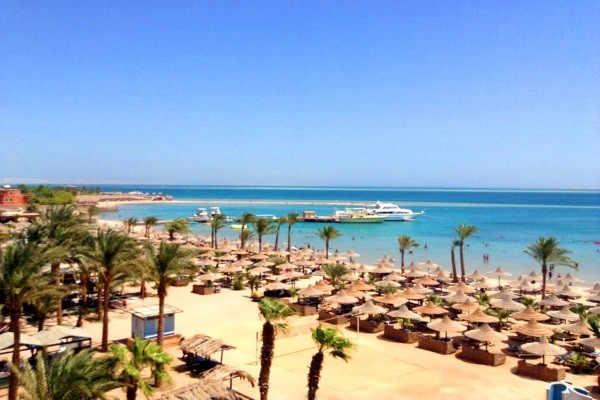 Plage - Hôtel Giftun Azur Resort 3* Hurghada Egypte