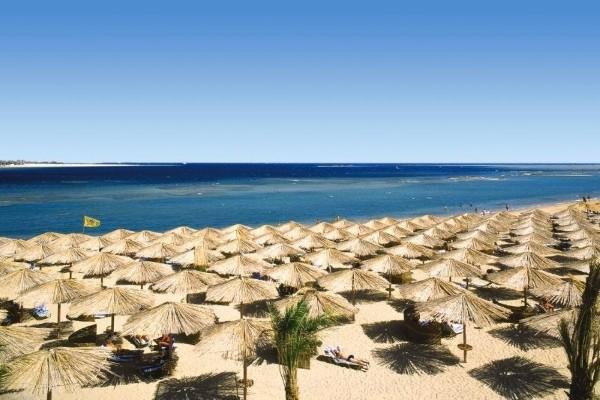 Plage - Hôtel Jaz Makadi Oasis Resort & Club 5* Hurghada Egypte