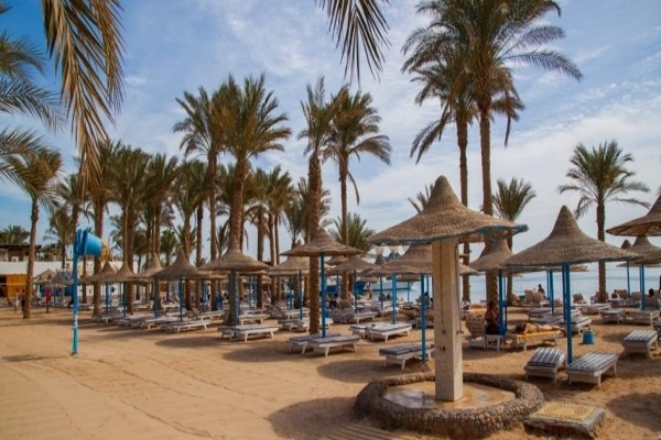 Plage - Hôtel Marlin Inn Azur Resort 4* Hurghada Egypte
