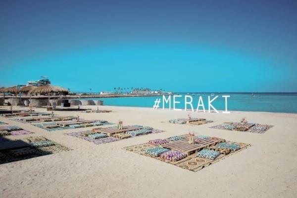 Plage - Hôtel Meraki Resort 4* Hurghada Egypte