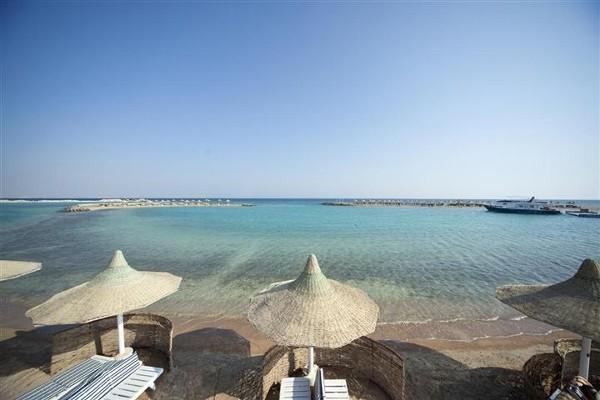 Plage - Hôtel Mondi Club Coral Beach 4* Hurghada Egypte