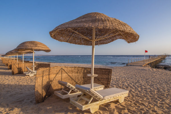 Plage - Onatti Beach Resort 4* Marsa Alam Egypte