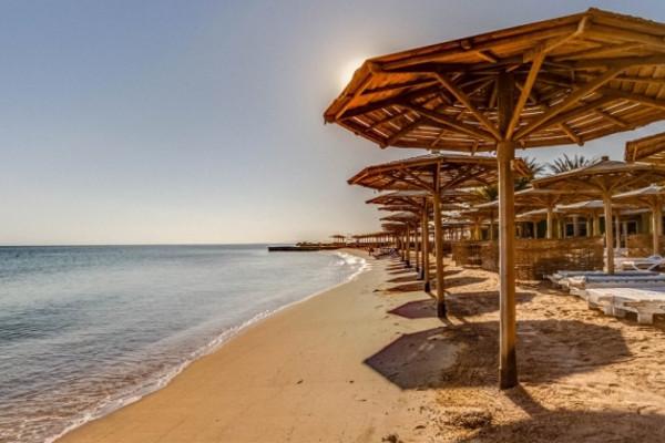Plage - Hôtel Palm Beach Resort 4* Hurghada Egypte