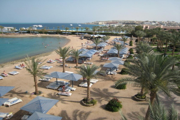 Plage - Hôtel Regina Resort 4* Hurghada Egypte