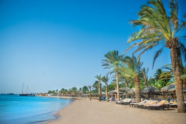 Plage - Hôtel Sindbad Club 4* Hurghada Egypte