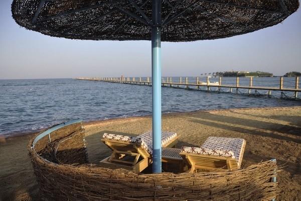 Plage - Hôtel Steigenberger Golf Resort 5* Hurghada Egypte