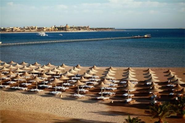 Plage - Hôtel Stella Di Mare Beach Resort & Spa 5* Hurghada Egypte