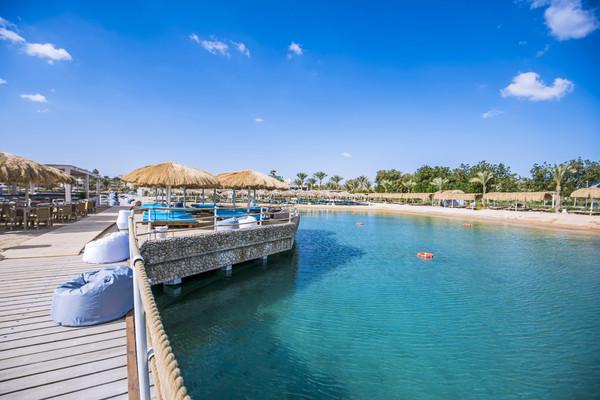 Plage - Hôtel Sunrise Aqua Joy Resort 4* Hurghada Egypte