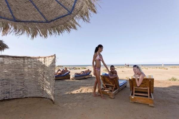 Plage - Hôtel Three Corners Rihana Inn 4* Hurghada Egypte