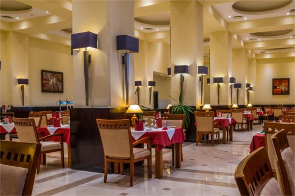 Restaurant - Hôtel Cleopatra Luxury Resort Makadi Bay 5* Hurghada Egypte