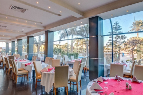 Restaurant - Hôtel Palm Beach Resort 4* Hurghada Egypte