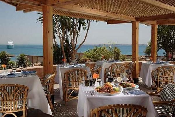 Terrasse - Hôtel Marriott 5* Hurghada Egypte