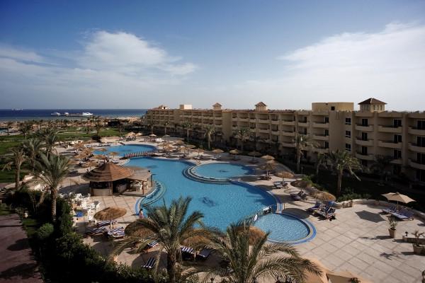Vue panoramique - Hôtel Amwaj Blue Beach Resort & Spa 4* Hurghada Egypte