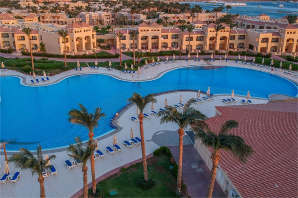 Vue panoramique - Hôtel Cleopatra Luxury Resort Makadi Bay 5* Hurghada Egypte