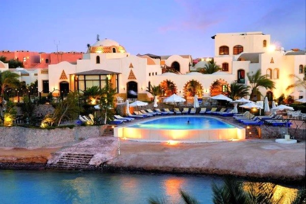 Vue panoramique - Hôtel Dawar El Omda 4* Hurghada Egypte