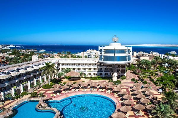 Vue panoramique - Seagull Beach Hurghada 4* Hurghada Egypte