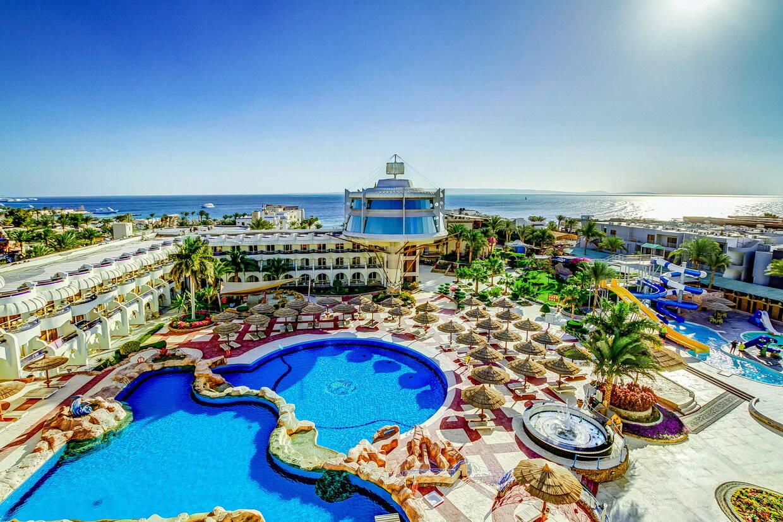 Vue panoramique - Hôtel Seagull Resort 4* Hurghada Egypte