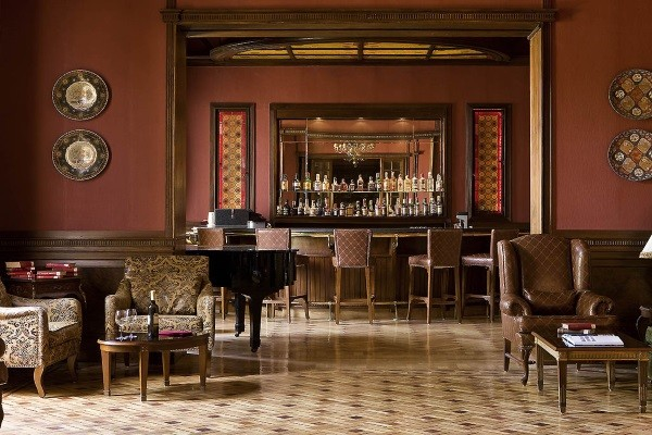 Bar - Hôtel Pavillon Winter Palace 5* Louxor Egypte