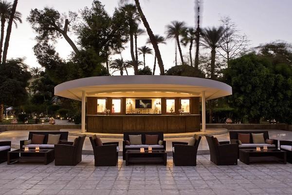 Terrasse - Hôtel Pavillon Winter Palace 5* Louxor Egypte