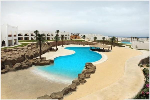 Piscine - Hôtel Hilton Nubian Resort 5* Marsa Alam Egypte