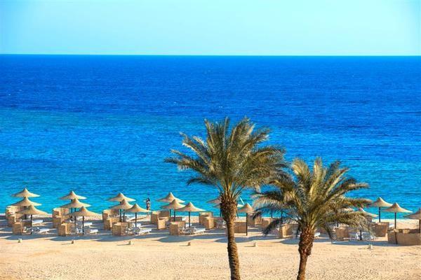 Plage - Hôtel Concorde Moreen Beach Resort 5* Marsa Alam Egypte