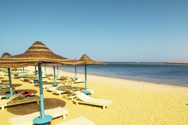 Plage - Hôtel SUNRISE Marina Resort 5* Marsa Alam Egypte