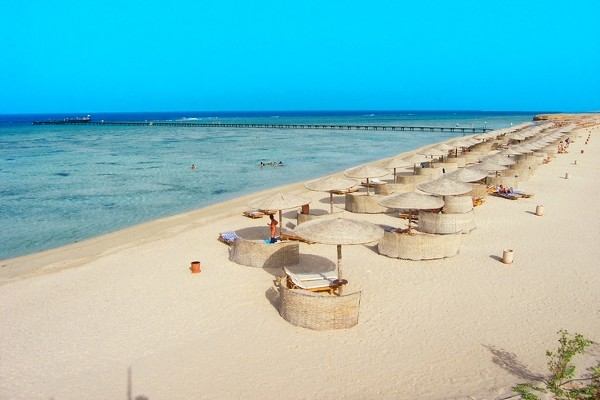 Plage - Hôtel Three Corners Fayrouz Plaza Beach Resort 5* Marsa Alam Egypte