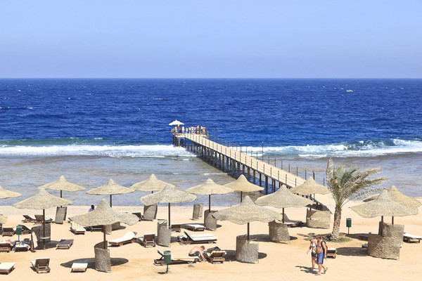 Plage - Hôtel Three Corners Sea Beach 4* Marsa Alam Egypte