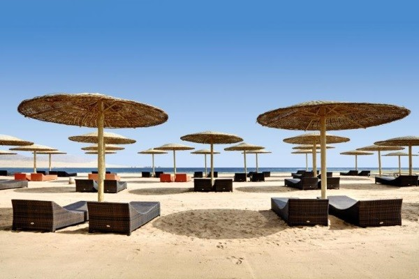 Plage - Hôtel Barceló Tiran Sharm Resort 5* Sharm El Sheikh Egypte