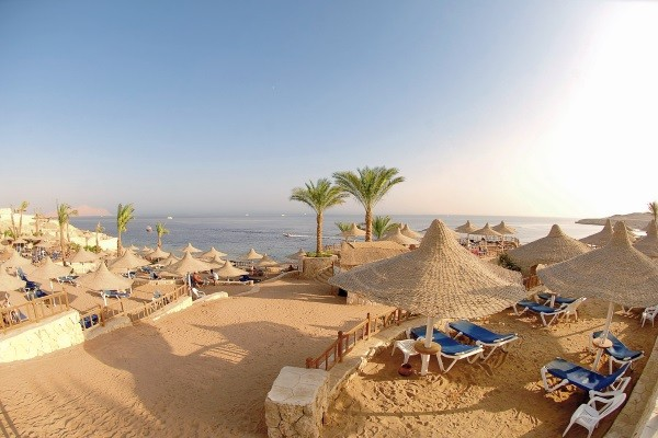 Plage - Hôtel Hilton Sharks Bay Resort 4* Sharm El Sheikh Egypte