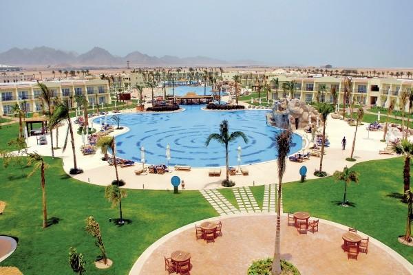 Vue panoramique - Hôtel Hilton Sharks Bay Resort 4* Sharm El Sheikh Egypte