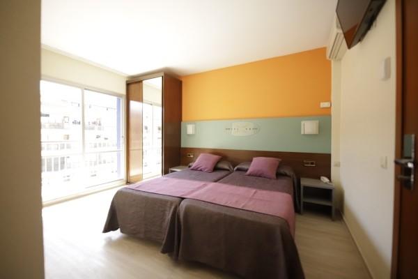 Chambre - Hôtel Papi 3* Barcelone Espagne
