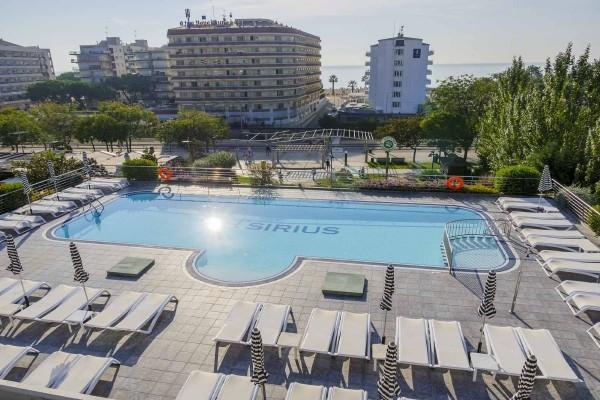 Piscine - Hôtel Checkin Sirius (avec transport) 4* sup Barcelone Espagne