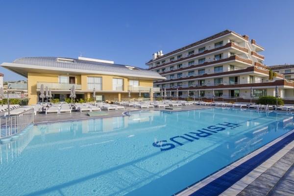 Piscine - Hôtel Checkin Sirius 4* sup Barcelone Espagne