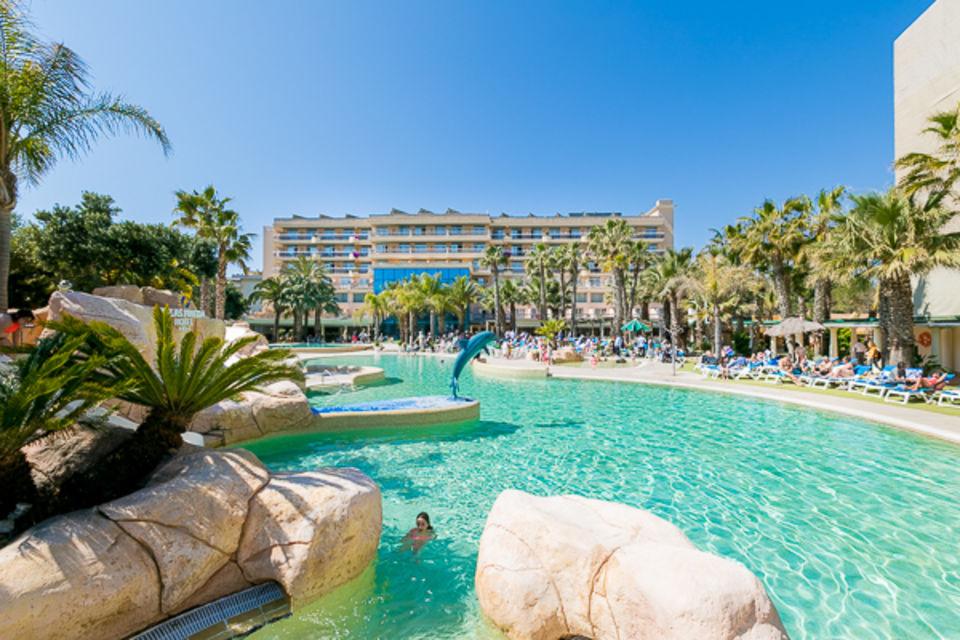 Hôtel Club Framissima Palas Pineda avec entrée Port Aventura Costa Dorada Espagne