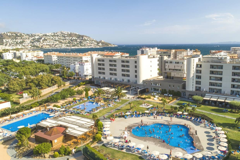 Vue panoramique - Hôtel Mediterraneo Park (vols non inclus) 4* Rosas Espagne