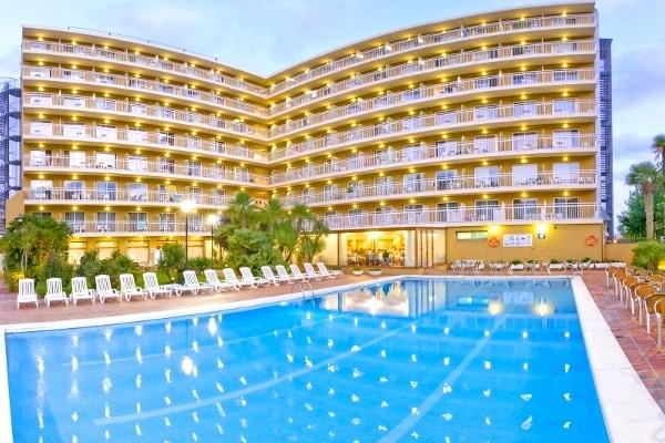 Piscine - Hôtel Président 3* Calella Espagne