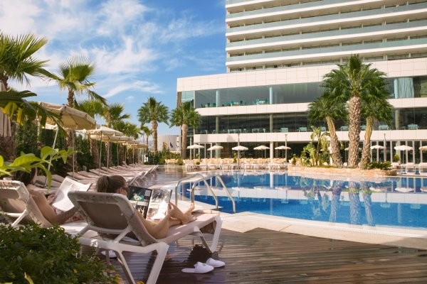 Piscine - Hôtel AR Diamante Beach 4* Calpe Espagne