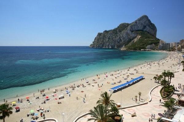 Plage - Hôtel AR Diamante Beach 4* Calpe Espagne