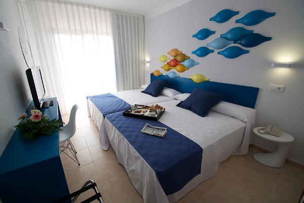 Chambre - Hôtel Evenia Olympic Park 4* Lloret De Mar Espagne