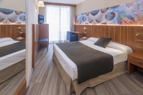 Chambre - Hôtel GHT Aquarium & Spa 4* Lloret De Mar Espagne