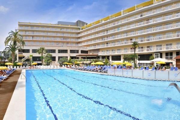 Piscine - Hôtel GHT Oasis Park & SPA 4* Lloret De Mar Espagne