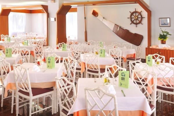 Restaurant - Hôtel GHT Aquarium & Spa 4* Lloret De Mar Espagne