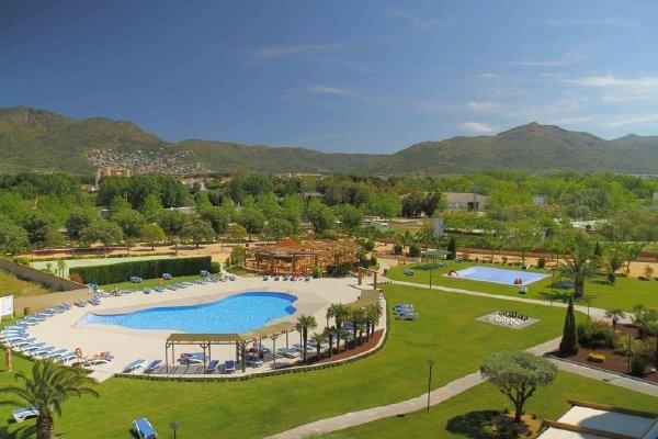 Vue panoramique - Hôtel Mediterraneo 3* Rosas Espagne