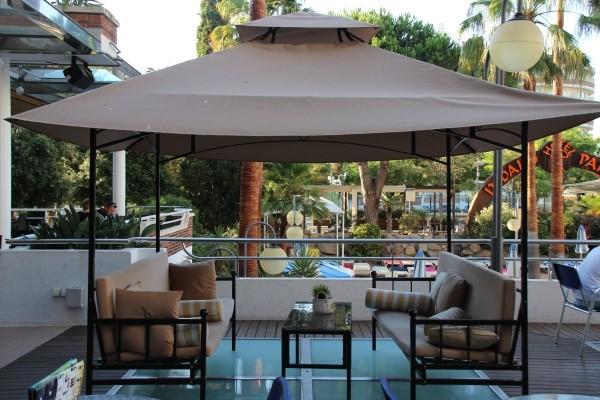 Patio - Hôtel Indalo Park (sans transport) 3* Santa Susanna Espagne