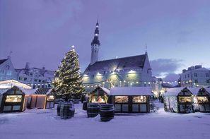 Estonie-Tallinn, Hôtel Marché de Noël à Tallinn