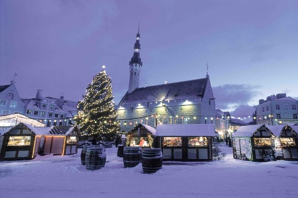 Ville - Hôtel Marché de Noël à Tallinn 4* Tallinn Estonie